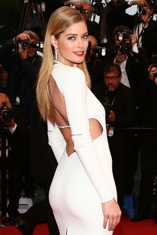 Doutzen Kroes Knocks Em Dead At Cannes