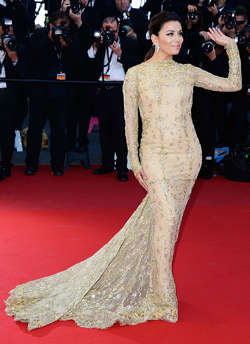 Eva Longoria Looks Gorgeous At Cannes