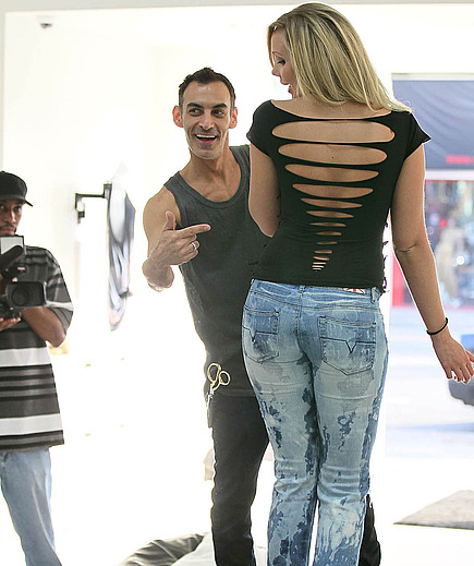 Jenna Bentley gets real on Melrose Ave