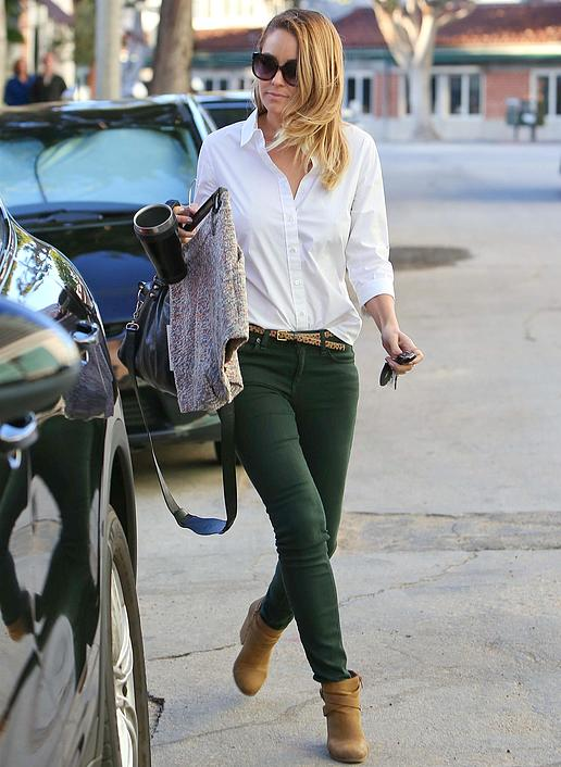 Lauren Conrad Keeps it California Casual.