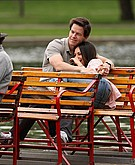 tn mila kunis 1 Mila Kunis and Mark Wahlberg cuddle