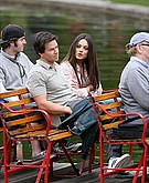 tn mila kunis 4 Mila Kunis and Mark Wahlberg cuddle