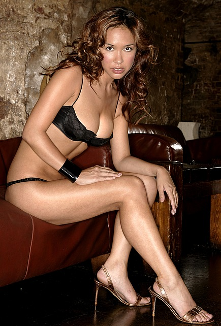 Myleene Klass in a sexy new lingerie shoot.