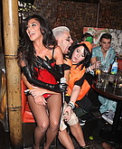 tn nicole scherzinger 12 Nicole Scherzinger enters the slutty costume contest.