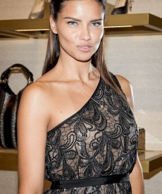 Adriana Lima Looks Beautiful And Classy In New York