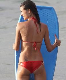 Alessandra Ambrosio In Two Sexy Bikinis