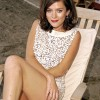Anna Friel Shows Off Some Serious Leg