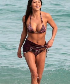 Sexy Arianny Celeste At The Beach In A Bikini