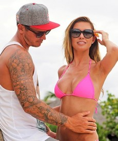 Audrina Patridge Strikes A Pose In Tahiti
