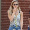 Bar Refaeli Takes A Stroll In NYC