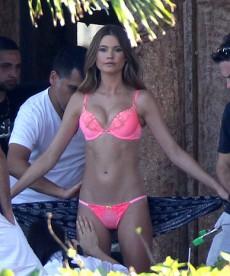 Behind The Scenes Pics Of Behati Prinsloo Victoria's Secret Shoot