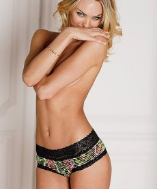 Candice Swanepoel Models For Victoria's Secret