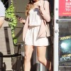 Cheryl Cole And Her Killer Legs Leaving A Salon In LA