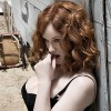 Sexy Redhead Christina Hendricks In Racy New Photoshoot