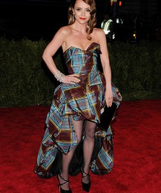 Christina Ricci Goes Punk With Plaid