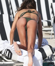 Claudia Galanti Spends A Little More Bikini Time On The Beach