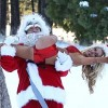 Teen Bride Courtney Stodden Gets Festive