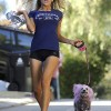 Teen Bride Courtney Stodden Out For A Jog In LA
