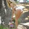 Teen Bride Courtney Stodden Dressed For Easter