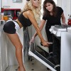 Teen Bride Courtney Stodden Bakes A Cake In Her Underwear