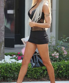 So This Is What Courtney Stodden Wears While Shopping