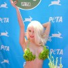 Courtney Stodden Wears A Lettuce Bikini