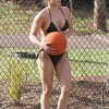 Sexy Hayden Panettiere Plays A Little Bikini Basketball