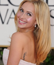 Hayden Panettiere Looks Stunning At The Golden Globes.