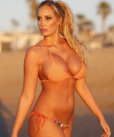 Jenna Bentley Rocks Ed Hardy Bikini