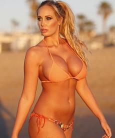 Jenna Bentley Rocks Ed Hardy Bikini
