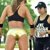 Gorgeous Jennifer Nicole Lee Works Out In The Park