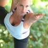 Jenny McCarthy Doing Yoga.