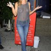 Joanna Krupa Pretty Much Topless In Beverly Hills.