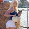 Karissa Shannon Picks Out Pumpkins