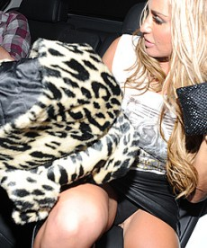 Katie Price Upskirt Shots