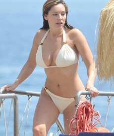 Kelly Brook In Italy
