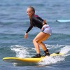 Kendra Wilkinson Goes Surfing