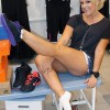 Lacey Schwimmer Hits Up Lady Foot Locker