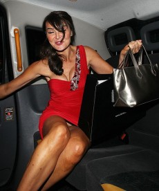 Lizzie Cundy Crotch Shots