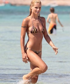 Michelle Hunziker Is One Sexy Lady