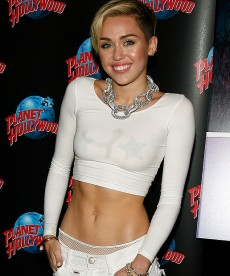 Miley Cyrus Almost Put Some Clothes On
