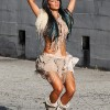 Nicole Scherzinger On The &#8216;Right There&#8217; Video Set
