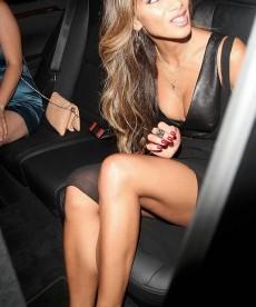 Nicole Scherzinger Plays It Safe
