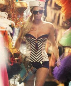 Paris Hilton Gets Ready For Halloween