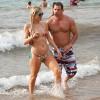 Paris Hilton Gets Wet In Maui