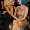 Rihanna And Katy Perry At The Grammy Awards 2012