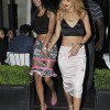 Rihanna Shows Off Her Belly In Paris
