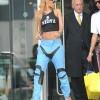 Rihanna Rocks Some Slutz Wear With No Bra