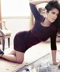 Salma Hayek In A Stunning New Photo Shoot.