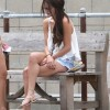 Selena Gomez Hangs Out In Miami